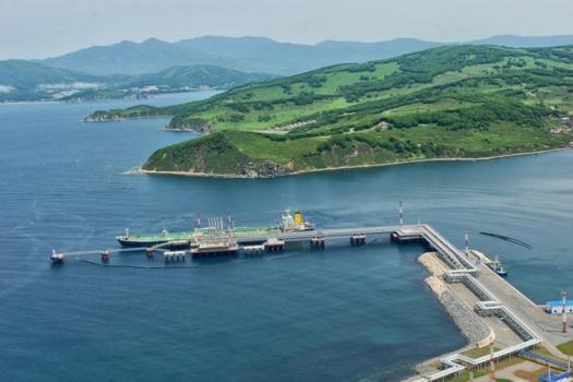 Экспорт нефти через порт Козьмино в I полугодии 2019 г. составил 16,3 млн тонн